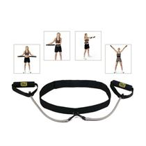 Pilates Exercising Waist Belt with Resistance Tubing